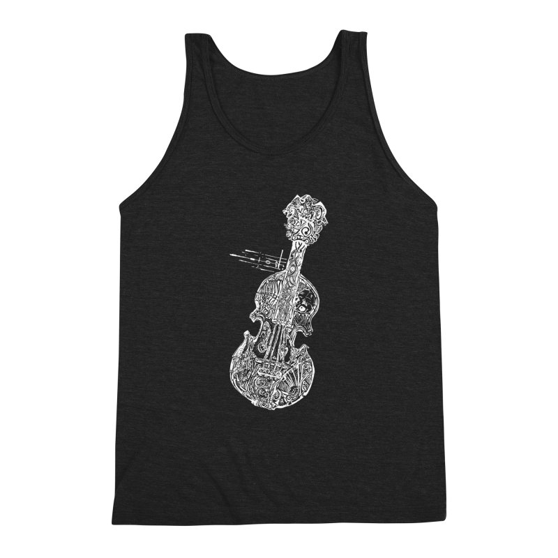 Revenge Of The 5th Note Men's Triblend Tank by Clare Bohning's Shop