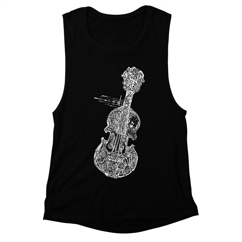 Revenge Of The 5th Note Women's Muscle Tank by Clare Bohning's Shop