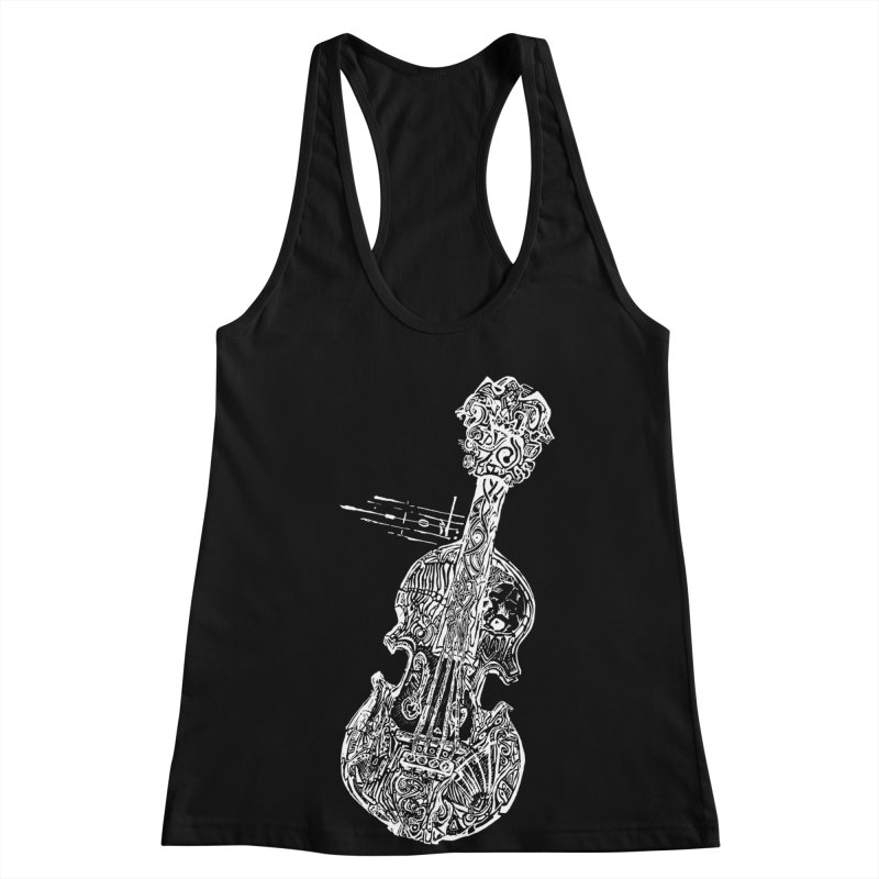 Revenge Of The 5th Note Women's Racerback Tank by Clare Bohning's Shop