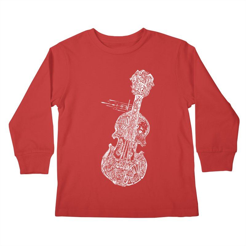 Revenge Of The 5th Note Kids Longsleeve T-Shirt by Clare Bohning's Shop