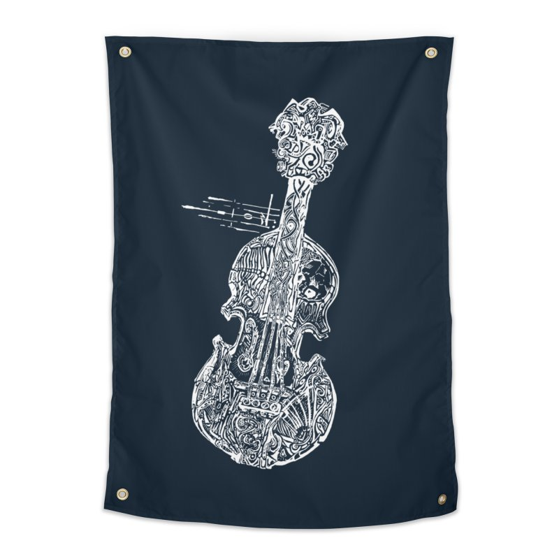 Revenge Of The 5th Note Home Tapestry by Clare Bohning's Shop
