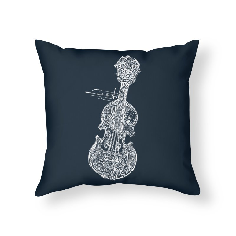Revenge Of The 5th Note Home Throw Pillow by Clare Bohning's Shop