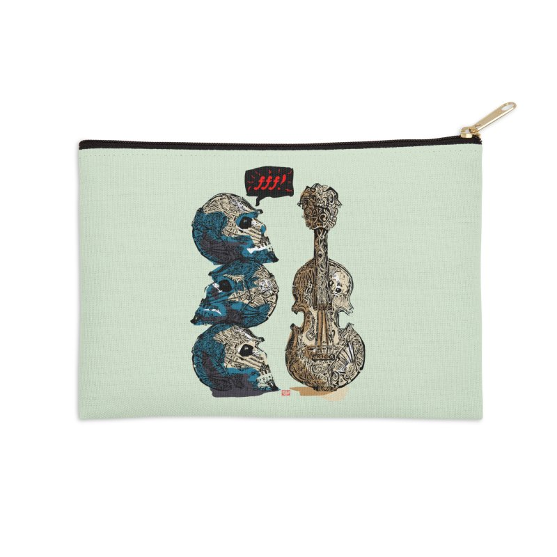 Fortissimo Accessories Zip Pouch by Clare Bohning's Shop