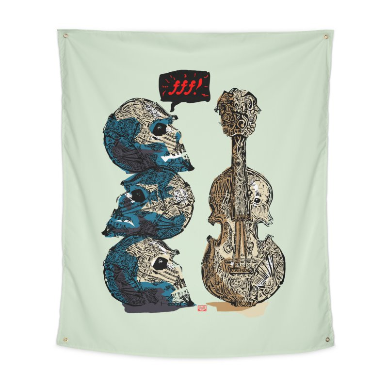 Fortissimo Home Tapestry by Clare Bohning's Shop