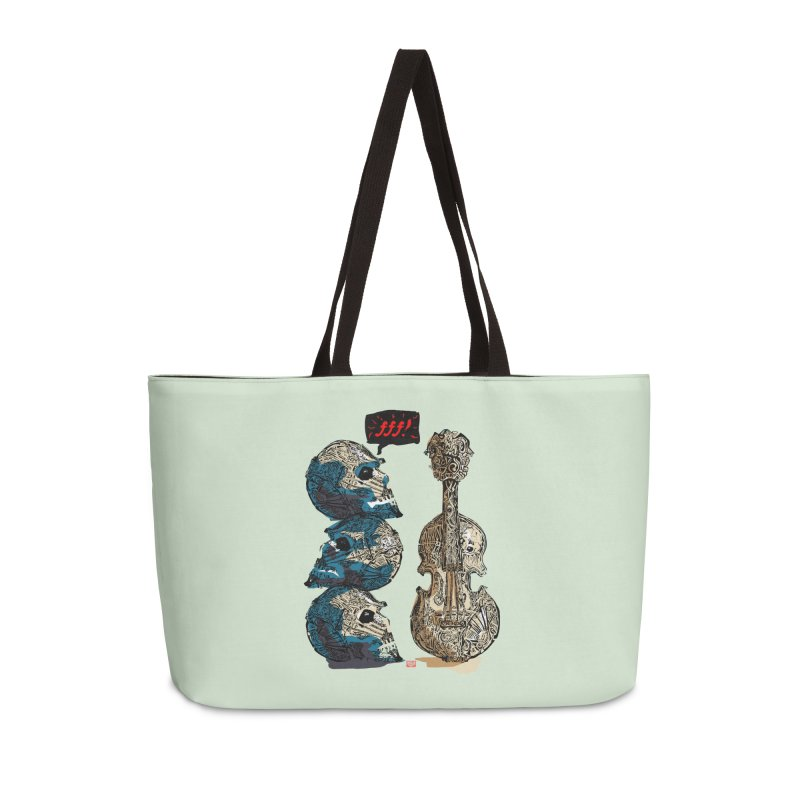 Fortissimo Accessories Weekender Bag Bag by Clare Bohning's Shop