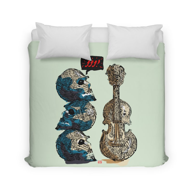 Fortissimo Home Duvet by Clare Bohning's Shop