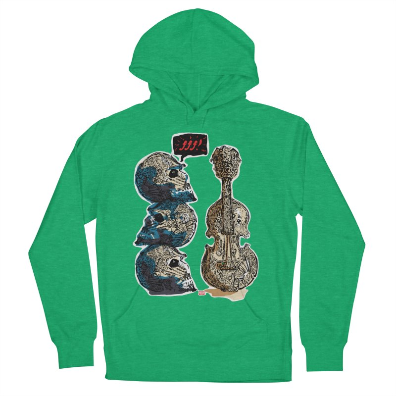 Fortissimo Women's French Terry Pullover Hoody by Clare Bohning's Shop