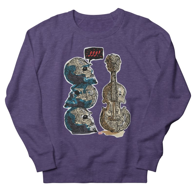 Fortissimo Women's French Terry Sweatshirt by Clare Bohning's Shop