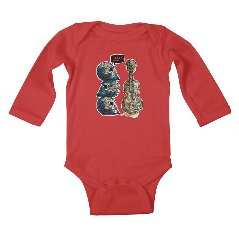 Fortissimo Kids Baby Longsleeve Bodysuit by Clare Bohning's Shop