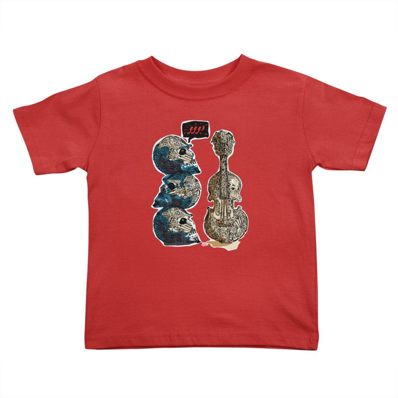 Fortissimo Kids Toddler T-Shirt by Clare Bohning's Shop