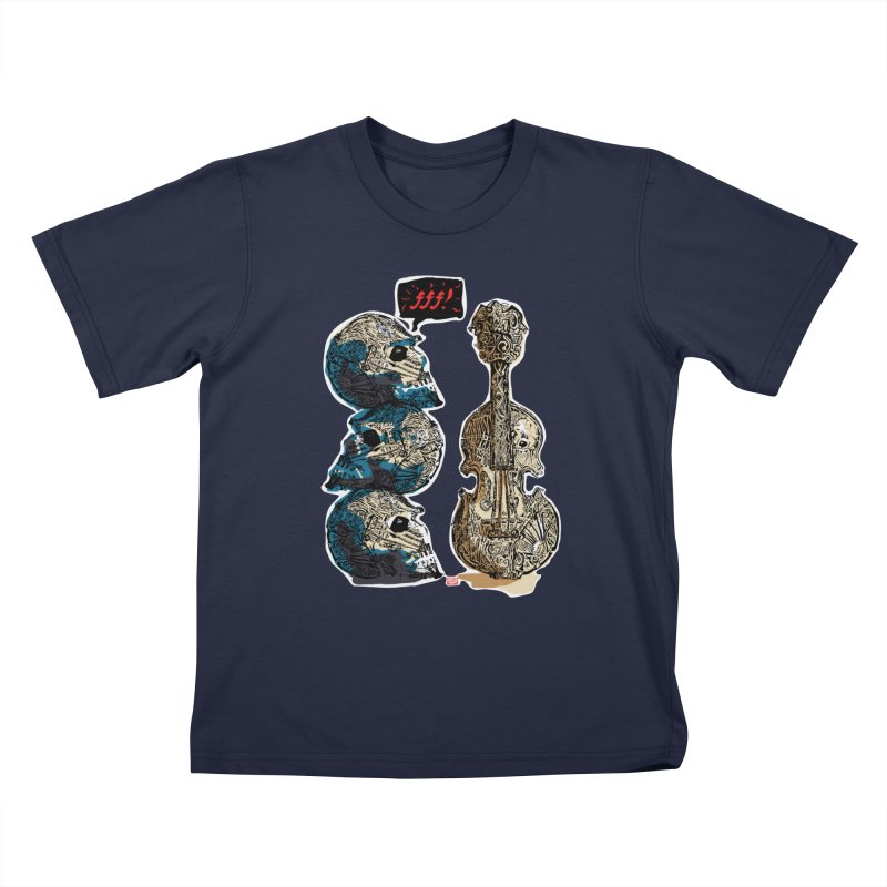Fortissimo Kids T-Shirt by Clare Bohning's Shop