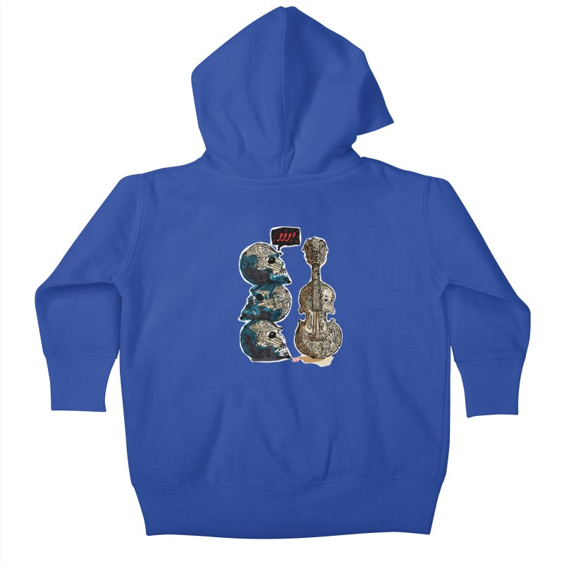 Fortissimo Kids Baby Zip-Up Hoody by Clare Bohning's Shop