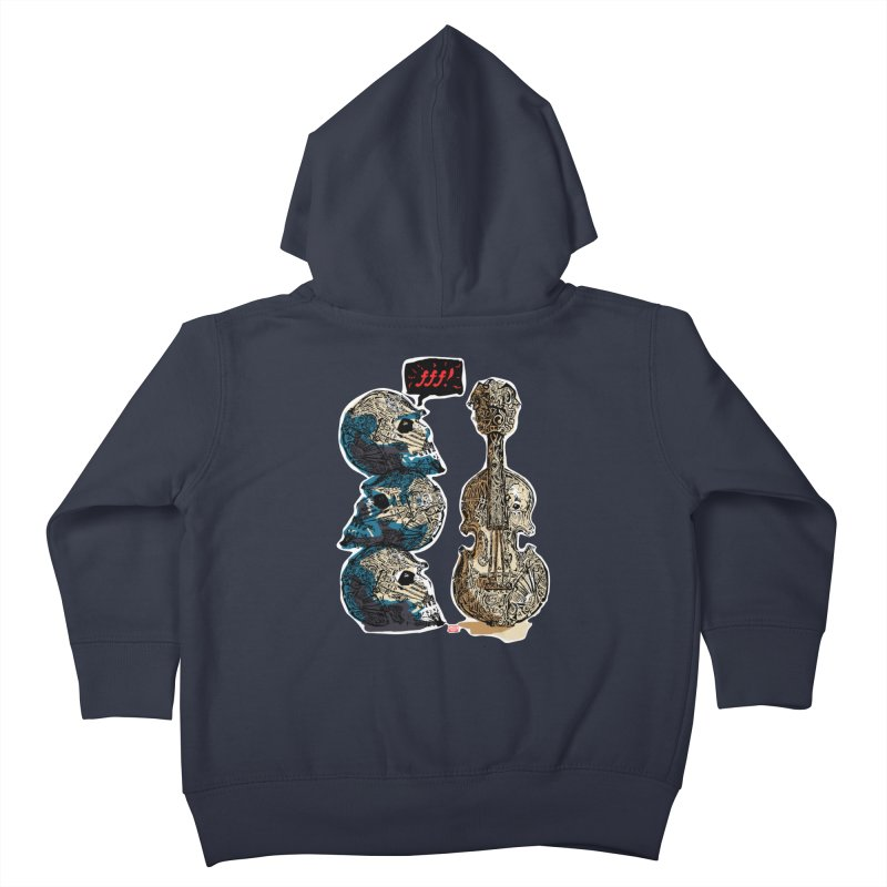 Fortissimo Kids Toddler Zip-Up Hoody by Clare Bohning's Shop