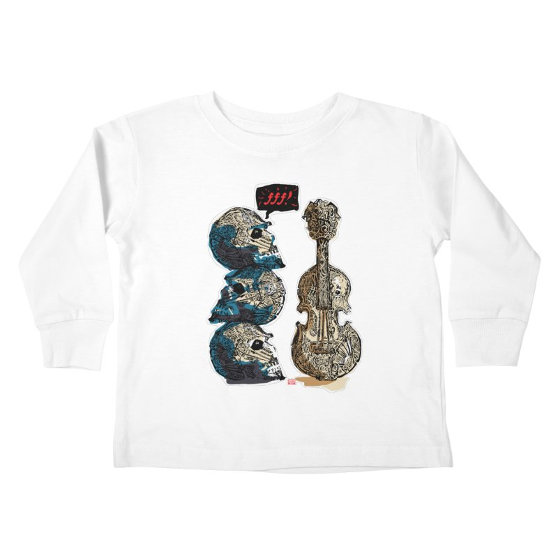 Fortissimo Kids Toddler Longsleeve T-Shirt by Clare Bohning's Shop