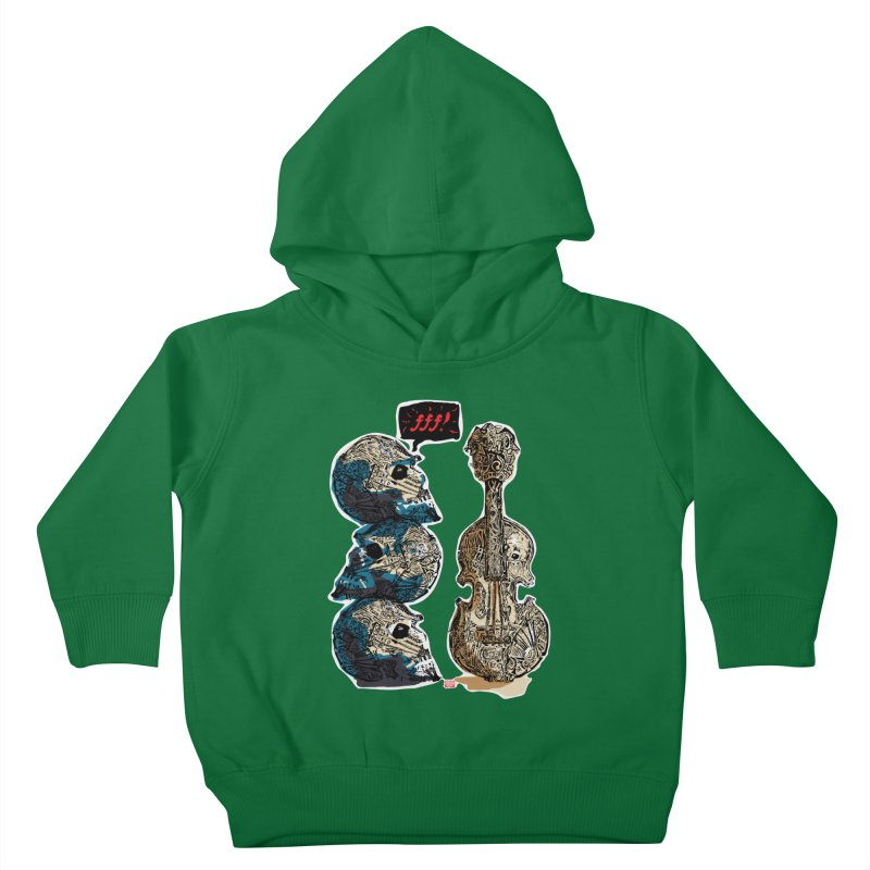 Fortissimo Kids Toddler Pullover Hoody by Clare Bohning's Shop