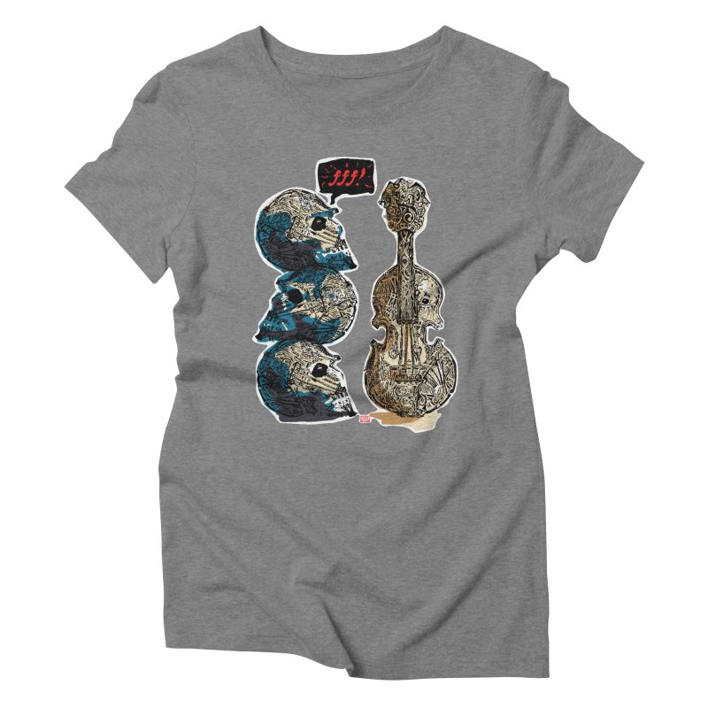 Fortissimo Women's Triblend T-Shirt by Clare Bohning's Shop