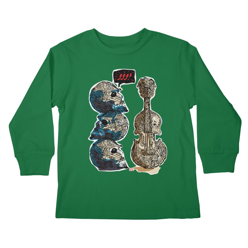 Fortissimo Kids Longsleeve T-Shirt by Clare Bohning's Shop