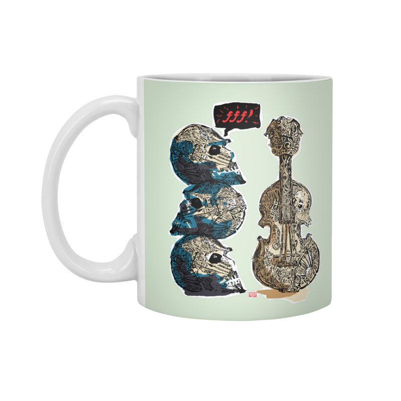 Fortissimo Accessories Mug by Clare Bohning's Shop