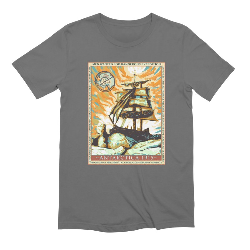 The Endurance Men's T-Shirt by Clare Bohning's Shop