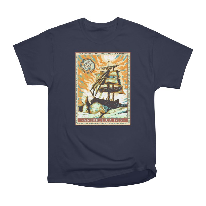 The Endurance Men's Heavyweight T-Shirt by Clare Bohning's Shop