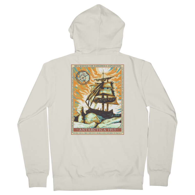 The Endurance Men's French Terry Zip-Up Hoody by Clare Bohning's Shop
