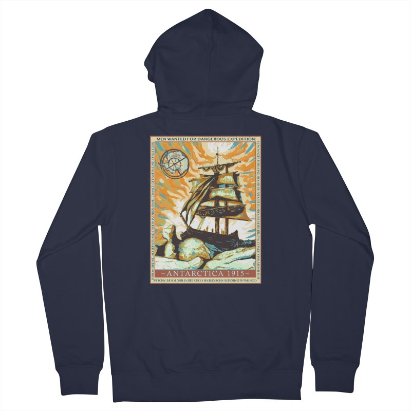 The Endurance Men's Zip-Up Hoody by Clare Bohning's Shop