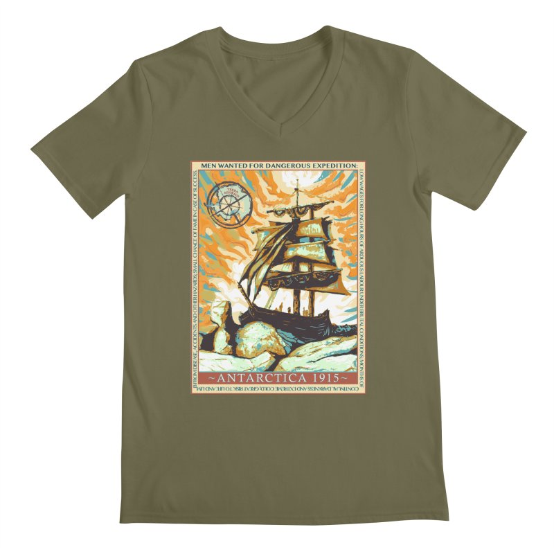 The Endurance Men's V-Neck by Clare Bohning's Shop