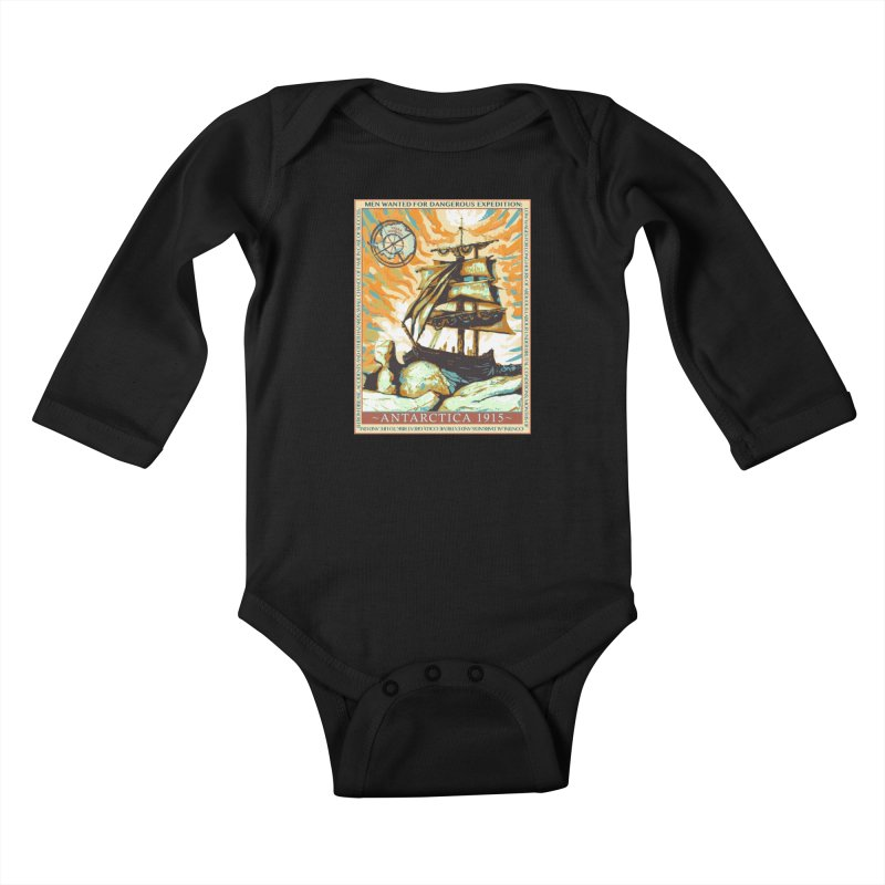 The Endurance Kids Baby Longsleeve Bodysuit by Clare Bohning's Shop
