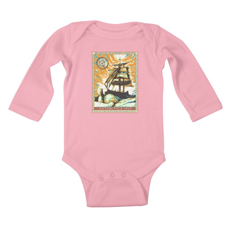 The Endurance Kids Baby Longsleeve Bodysuit by Clare Bohning's Shop