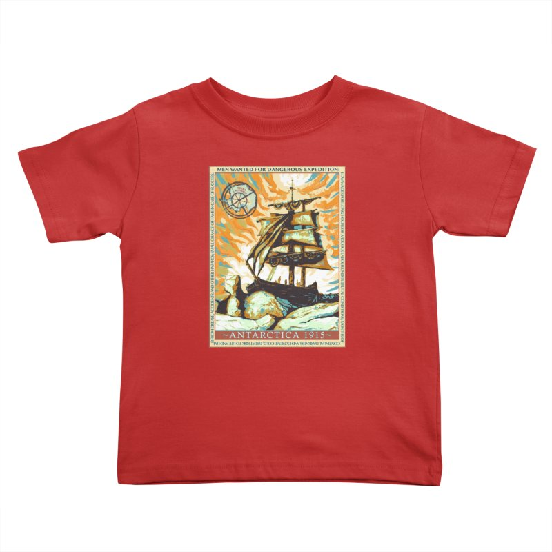 The Endurance Kids Toddler T-Shirt by Clare Bohning's Shop