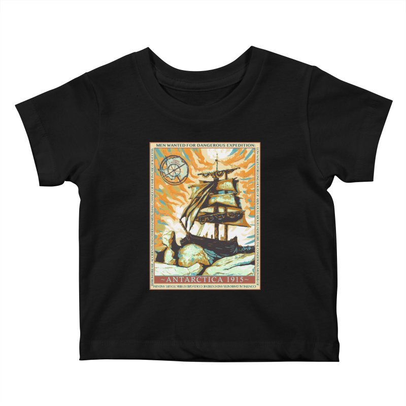 The Endurance Kids Baby T-Shirt by Clare Bohning's Shop