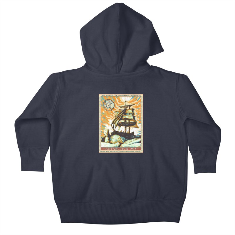 The Endurance Kids Baby Zip-Up Hoody by Clare Bohning's Shop