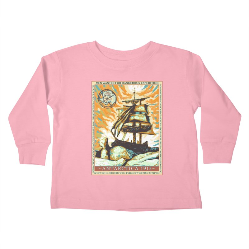 The Endurance Kids Toddler Longsleeve T-Shirt by Clare Bohning's Shop