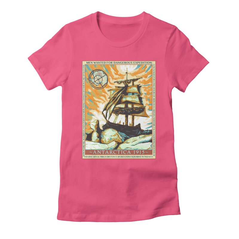 The Endurance Women's Fitted T-Shirt by Clare Bohning's Shop