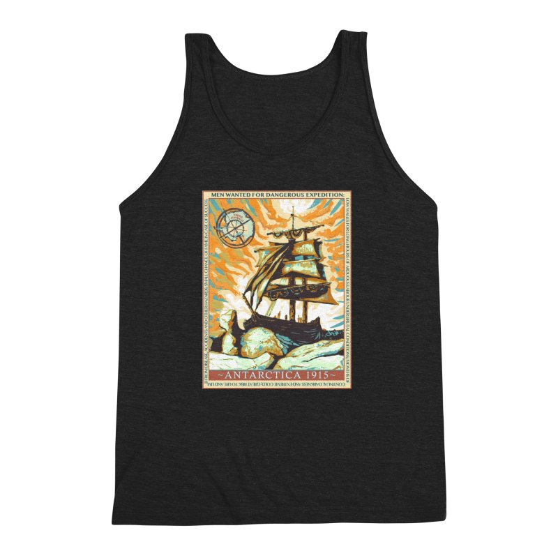 The Endurance Men's Triblend Tank by Clare Bohning's Shop