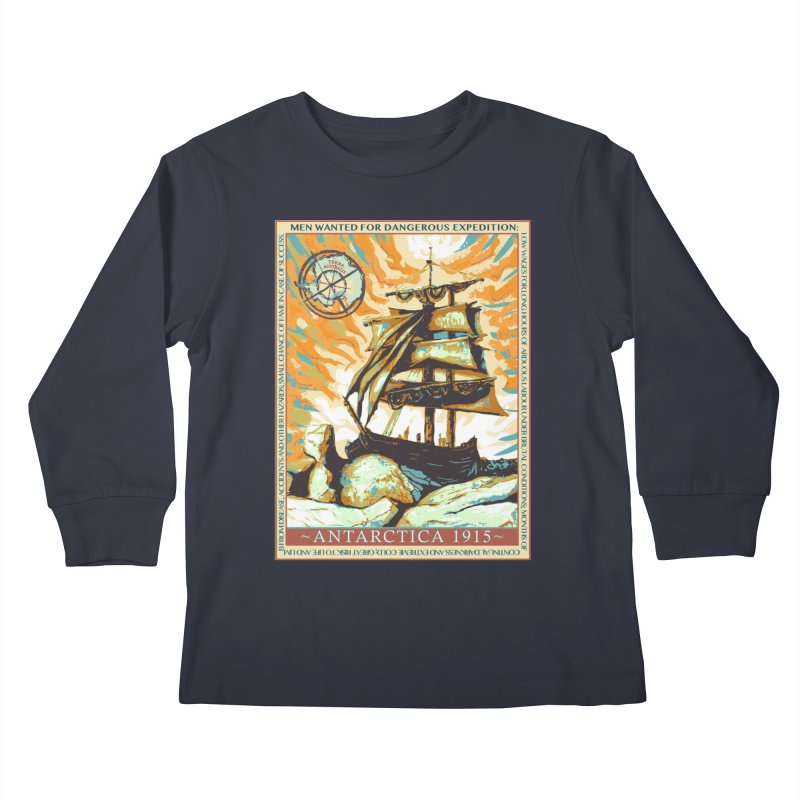 The Endurance Kids Longsleeve T-Shirt by Clare Bohning's Shop