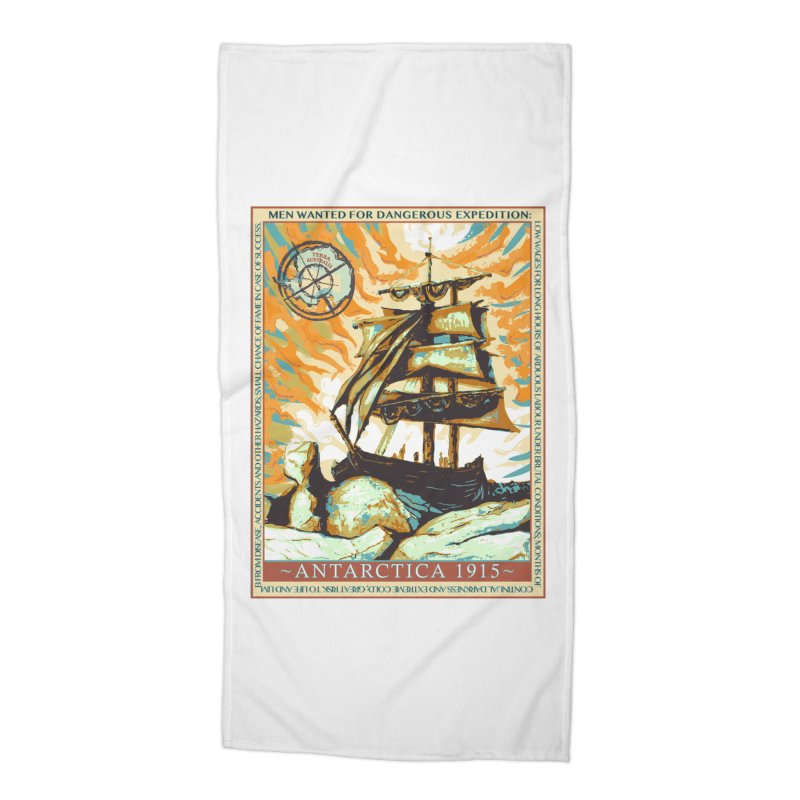 The Endurance Accessories Beach Towel by Clare Bohning's Shop