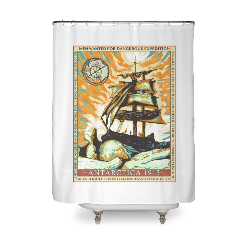 The Endurance Home Shower Curtain by Clare Bohning's Shop