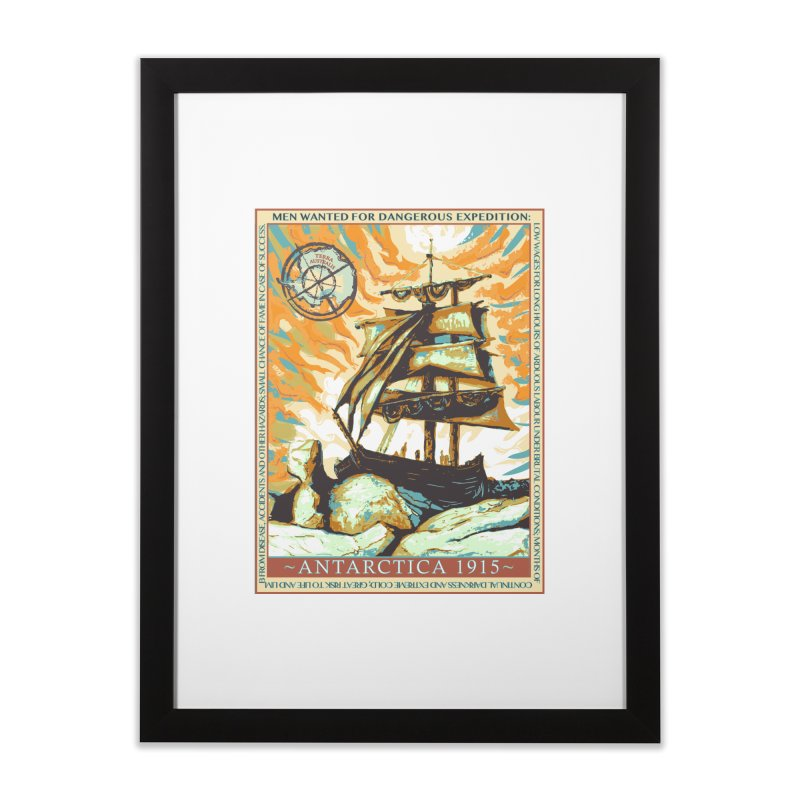 The Endurance Home Framed Fine Art Print by Clare Bohning's Shop