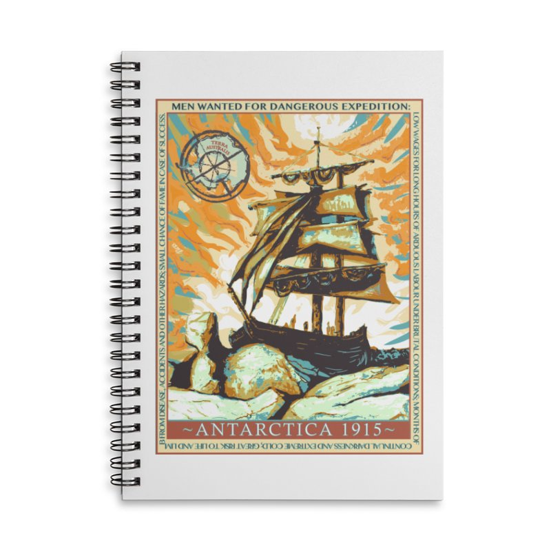 The Endurance Accessories Lined Spiral Notebook by Clare Bohning's Shop