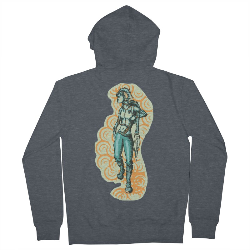 Don't Need Wings to Fly Men's French Terry Zip-Up Hoody by Clare Bohning's Shop