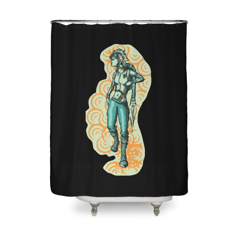 Don't Need Wings to Fly Home Shower Curtain by Clare Bohning's Shop