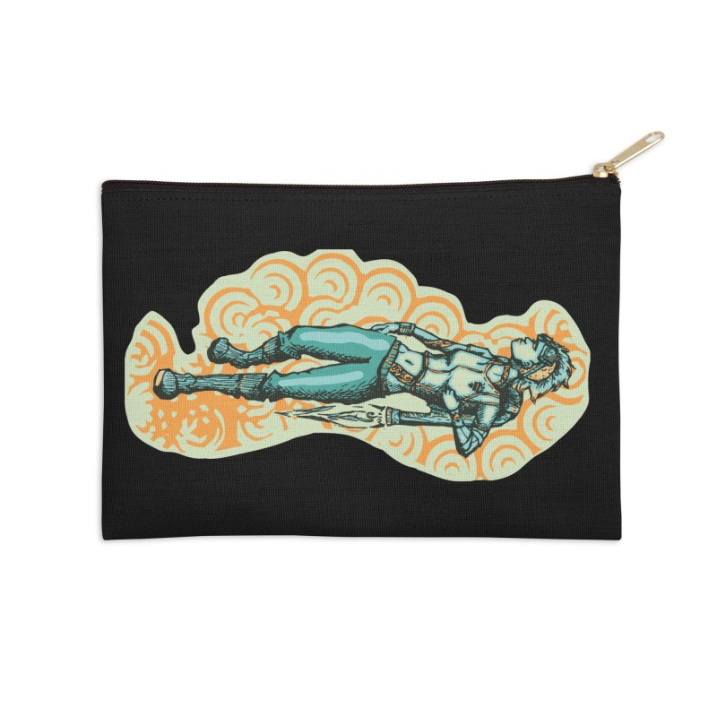 Don't Need Wings to Fly in Zip Pouch by Clare Bohning's Shop