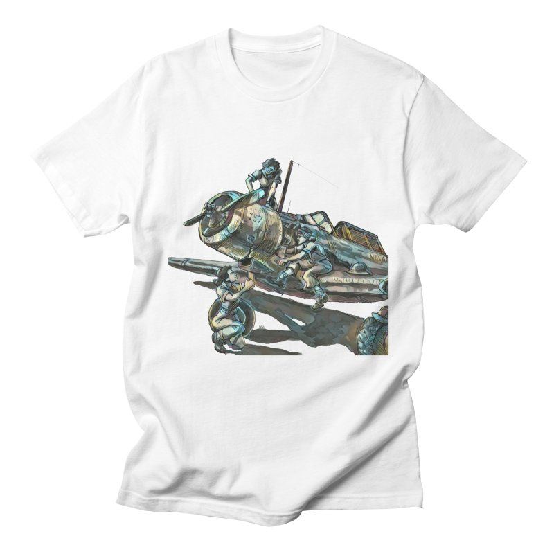 Navy Gals Men's T-Shirt by Clare Bohning's Shop
