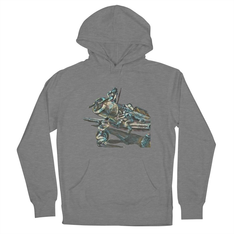 Navy Gals Men's French Terry Pullover Hoody by Clare Bohning's Shop