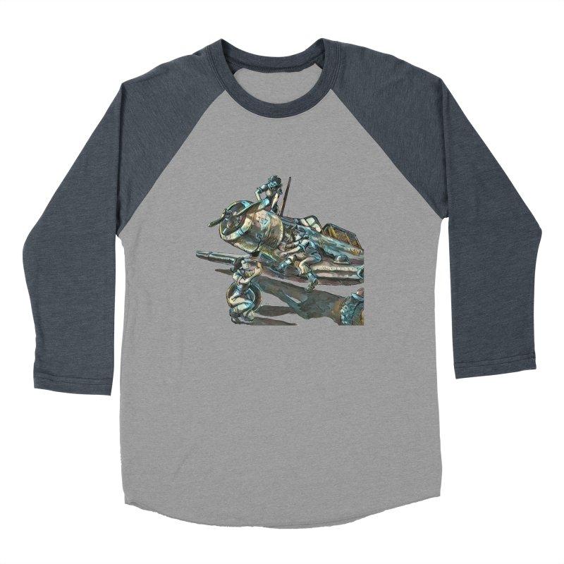 Navy Gals Women's Baseball Triblend Longsleeve T-Shirt by Clare Bohning's Shop