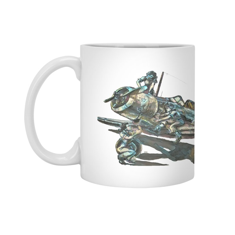 Navy Gals Accessories Mug by Clare Bohning's Shop
