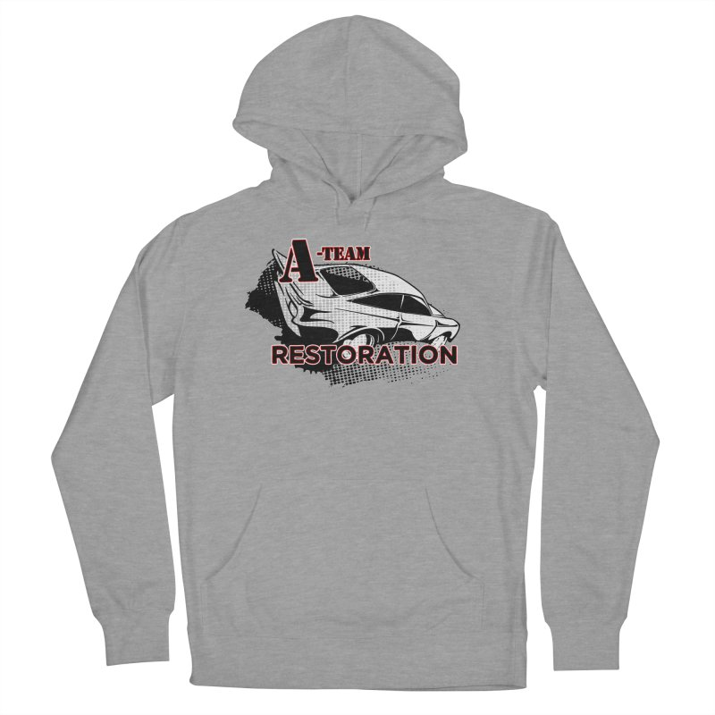 A-Team Restoration Men's French Terry Pullover Hoody by Clare Bohning's Shop