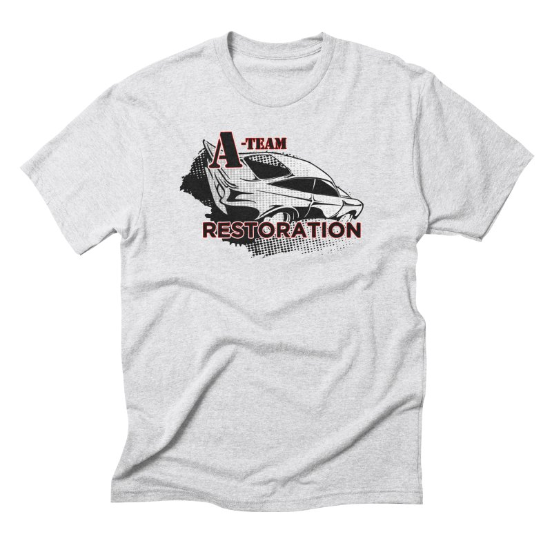 A-Team Restoration Men's Triblend T-Shirt by Clare Bohning's Shop