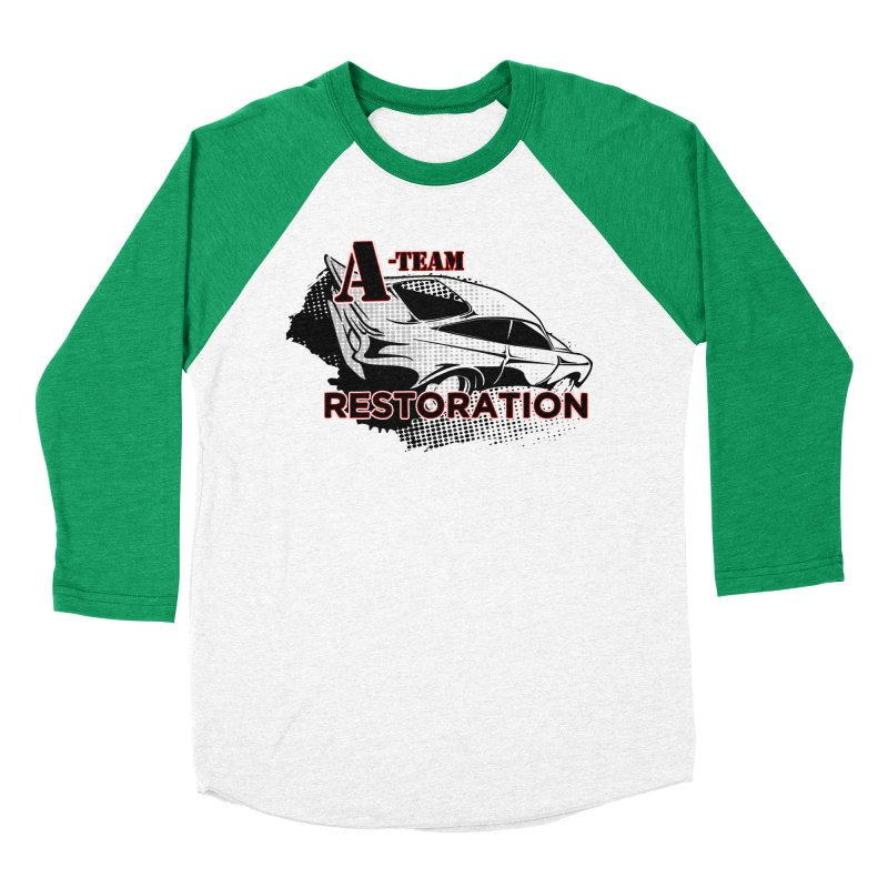 A-Team Restoration Women's Baseball Triblend Longsleeve T-Shirt by Clare Bohning's Shop